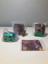 Scooby-Doo Cartoon Network 1996 Burger King Kids Club Toys Qty 4