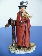 Vintage Norman Rockwell Saturday Evening Post Native American Indian Figurine