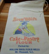 RL-44 SNOW WHITE Flour Bag Sack Feed Seed  Novelty Collectible