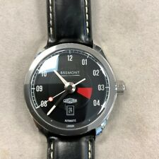 Bremont Jaguar MKIII E-Type Steel Auto 43mm Mens Watch BJ-III/BK Selling As-Is