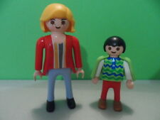 PLAYMOBIL – 2 clients de coiffeur / Hairdressing customer / 4413