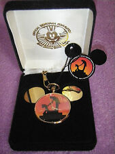 DISNEY 1994 DISNEYANA CONVENTION MICKEY MOUSE  LIMITED EDITION POCKET WATCH