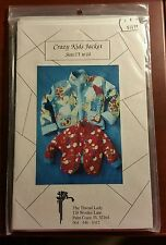 CRAZY KIDS JACKET by THE THREAD LADY - CUTE...UNCUT PATTERN