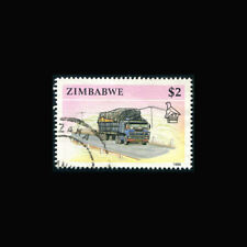 Zimbabwe, Sc #631, Used, 1990, Tractor-trailer truck, A5AID-9