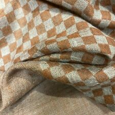 Grey and Rust Cashmere Shawl