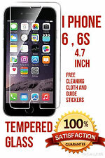 i phone 6, 6s tempered glass (4.7 inch) + screen cloth + guide stickers