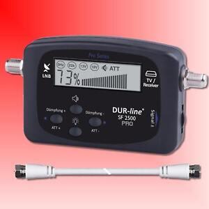 Dur-Line Satfinder SF 2500 Pro LCD Display HDTV Satfinder Sat Satelliten Finder