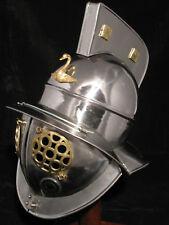 Gladiator Römer Helm Ritter Rüstung Larp Mittelalter Reenactment Rom sca  R62