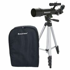 Celestron 21035 Travel Scope 70 Telescope 70mm Black Never