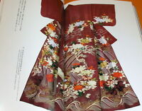 KOSODE - The Origin of Modern Kimono Design book japan japanese #0455
