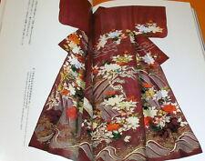 KOSODE - The Origin of Modern Kimono Design book japan japanese #0455