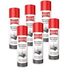 BALLISTOL Druckgas-Reiniger Staubfrei 6 Dosen a 300 ml Spraydose Druckluft 25287