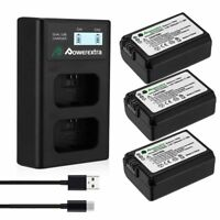 NP-FW50 Battery + Charger for Sony NEX-3N NEX-5T NEX-6 NEX-7 A3000 A5000 A6000