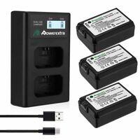 NP-FW50 Battery + Charger for Sony NEX-3N NEX-5T NEX-6 NEX-7 A3000 A5000 A6000