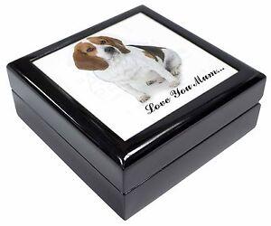 Beagle Dog 'Love You Mum' Keepsake/Jewellery Box Christmas Gift, AD-BEA4lymJB