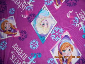 MadieBs Custom Frozen Sisters Crib or Toddler Bed 3 Piece Sheet Set with Name