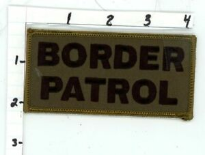 BORDER PATROL SUBDUED SWAT SUBDUED NEW PATCH POLICE SHERIFF