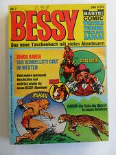 Bessy Nr. 7 (Comic Bastei) - Zustand 2-3 (Seiten Fest)