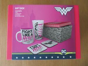 DC Comics Wonder Woman Drinkware Gift Set