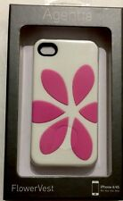 Agent18 HeartVest Case -White/Pink for iPhone 4/4s GIPFVX/WC