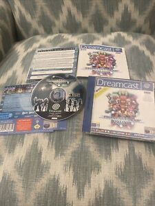 PHANTASY STAR ONLINE SEGA DREAMCAST PAL GAME COMPLETE WITH MANUAL & SONIC TRIAL