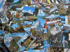 Schweiz 350 Ansichtskarten 1950-2000 Topografie Konvolut Suisse Svizzera