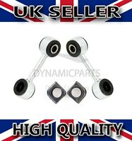 VW T4 TRANSPORTER FRONT ANTI ROLL BAR DROP LINKS WITH ANTI ROLL BAR BUSHES