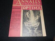 Les Annales Magazine del'Illusion, Rare Collectible