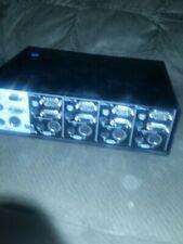 Omniview Belkin 4 Port PS/2 Model #F1D066 Mouse Keyboard Monitor Sharing