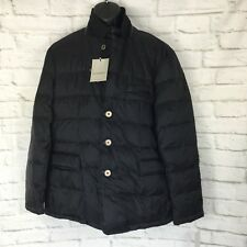 Rainforest RFT Mens XXL Quilted Down Puffer Jacket Blazer Black MSRP $350