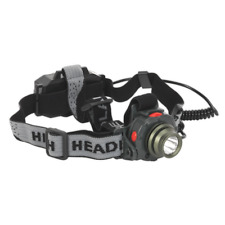 HT106LED Sealey Head Torch 3W CREE LED Auto Sensor Rechargeable [Torches]