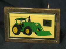 RARE 1984 John Deere Canadian Farm Progress Show Tractor & Loader Belt Buckle