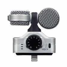 Zoom iQ7 Mid-Side Stereo Microphone for iOS Devices iPhone, iPad, iPod    ZIQ7