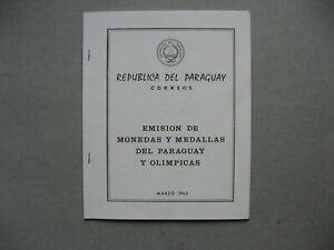 PARAGUAY, booklet 1965 MNH, Olympic Games Medal