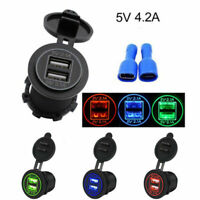Voiture Allume-cigare Chargeur Double Port USB 12V/24V Adaptateur Universel CP