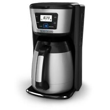 12-Cup Programmable Thermal Coffee Maker in Stainless Steel