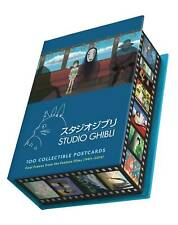 STUDIO GHIBLI 100 PIECE COLLECTIBLE POSTCARD SET NEW FROM CHRONICLE BOOKS