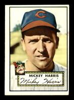 1952 Topps #207 Mickey Harris EX+ X1357637