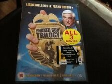The Naked Gun DVD Trilogy Leslie Nielson .NEW SEALED REGION 2 all 3 comedy films