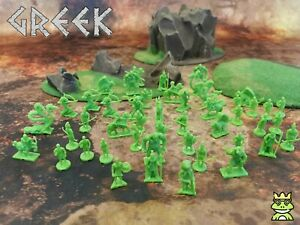 RPG Miniatures Army Lot – Minotaur, Archers, Monsters, Ancient Greek Heroes
