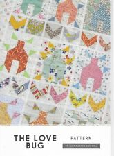 THE LOVE BUG  a Jen Kingwell Designs Quilting Pattern 32 X 44 1/2