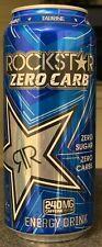 NEW ROCKSTAR ZERO CARB ENERGY DRINK 16 FL OZ FULL CAN ZERO SUGAR ZERO CARBS