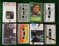 Johnny Cash Cassette 4 Tapes RARE Bundle Rare Job Lot
