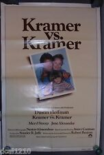 KRAMER VS KRAMER ORIG MOVIE POSTER DUSTIN HOFFMAN