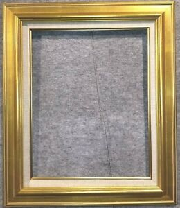 """3.75"""" Antique Gold Leaf Ornate photo Oil Painting Wood Picture Frame 18G 20x24"""