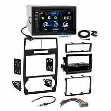 Kenwood Bluetooth Sirius Stereo Dash Kit Harness for 05-07 Dodge Magnum Charger