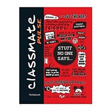 Classmate Pulse Single Line 5 - Subject Notebook - 240x180mm, 60GSM, 250 Pages