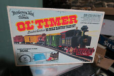 NEW MONTGOMERY WARD & COMP. OL'TIMER LIMITED EDITION HO SCALE ELECTRIC TRAIN SET