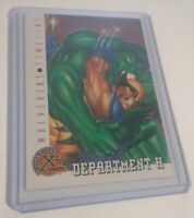 '95 Incredible Hulk Wolverine Timeline Marvel Comic Trading Card 83 9.8 NM Fleer