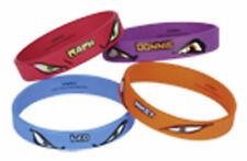 Teenage Mutant Ninja Turtles pack of 4 Bracelets, by Amscan